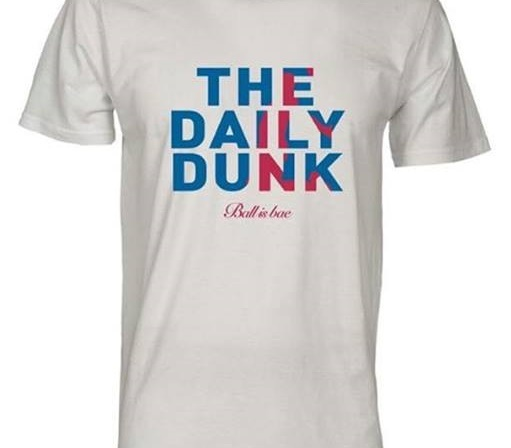 Tshirt The daily dunk mannequin